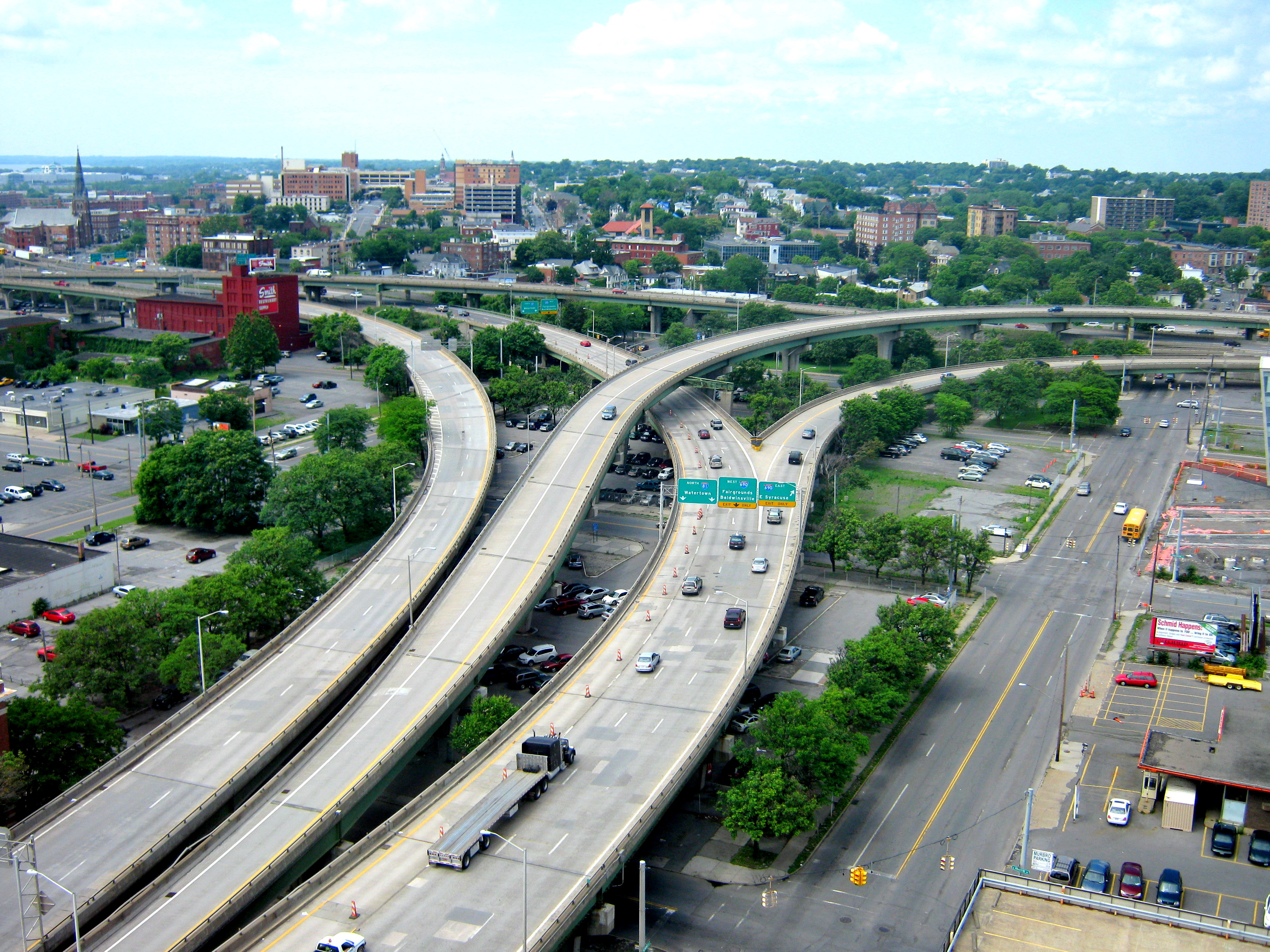 I-81 Interchange Aerial